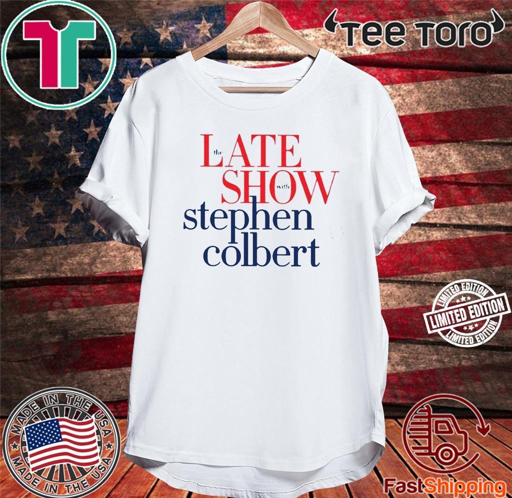 Colbertlateshow Com 2020 Shirt