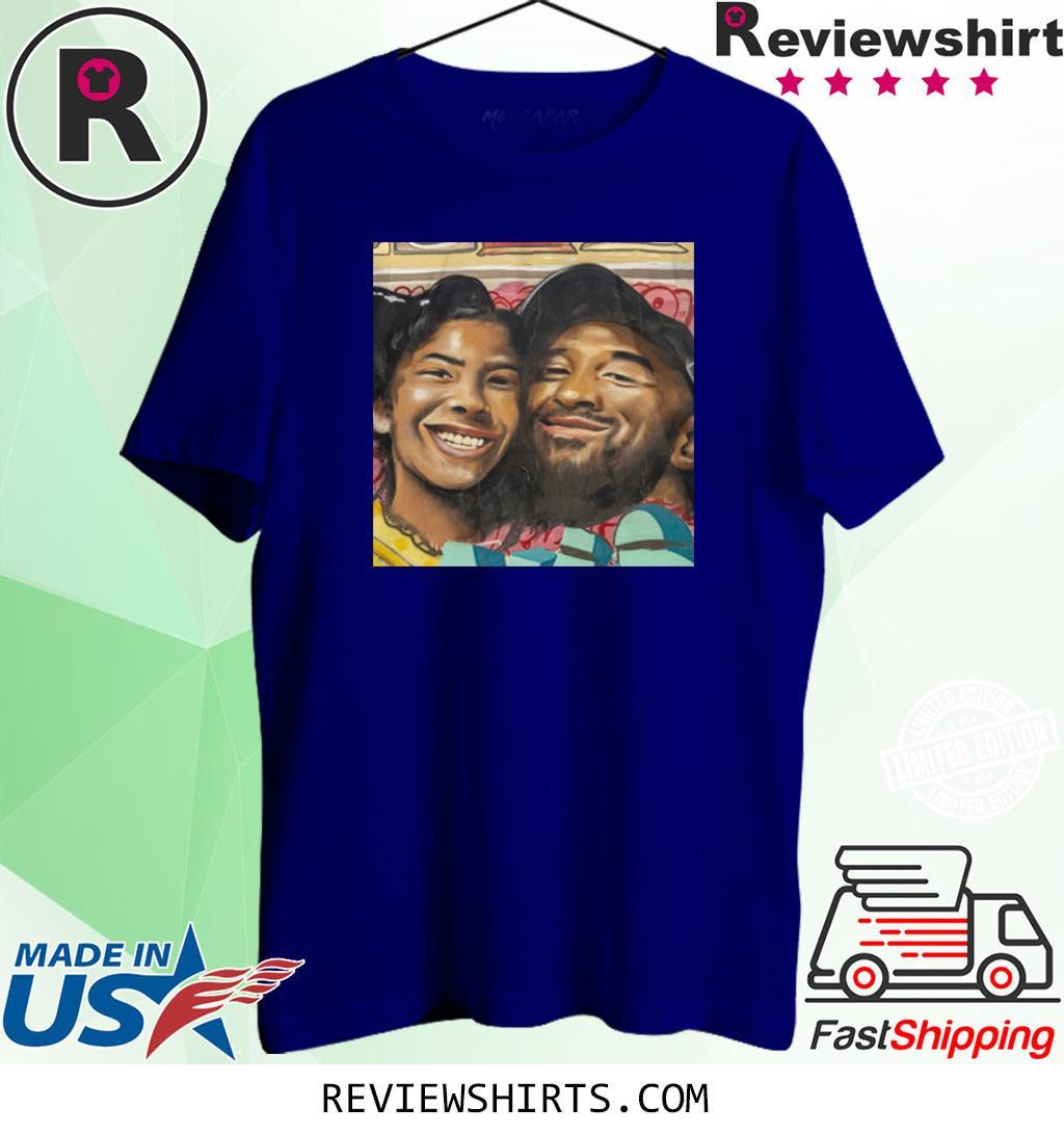 Kobe Bryant and Gigi Bryant Family Love Shirt
