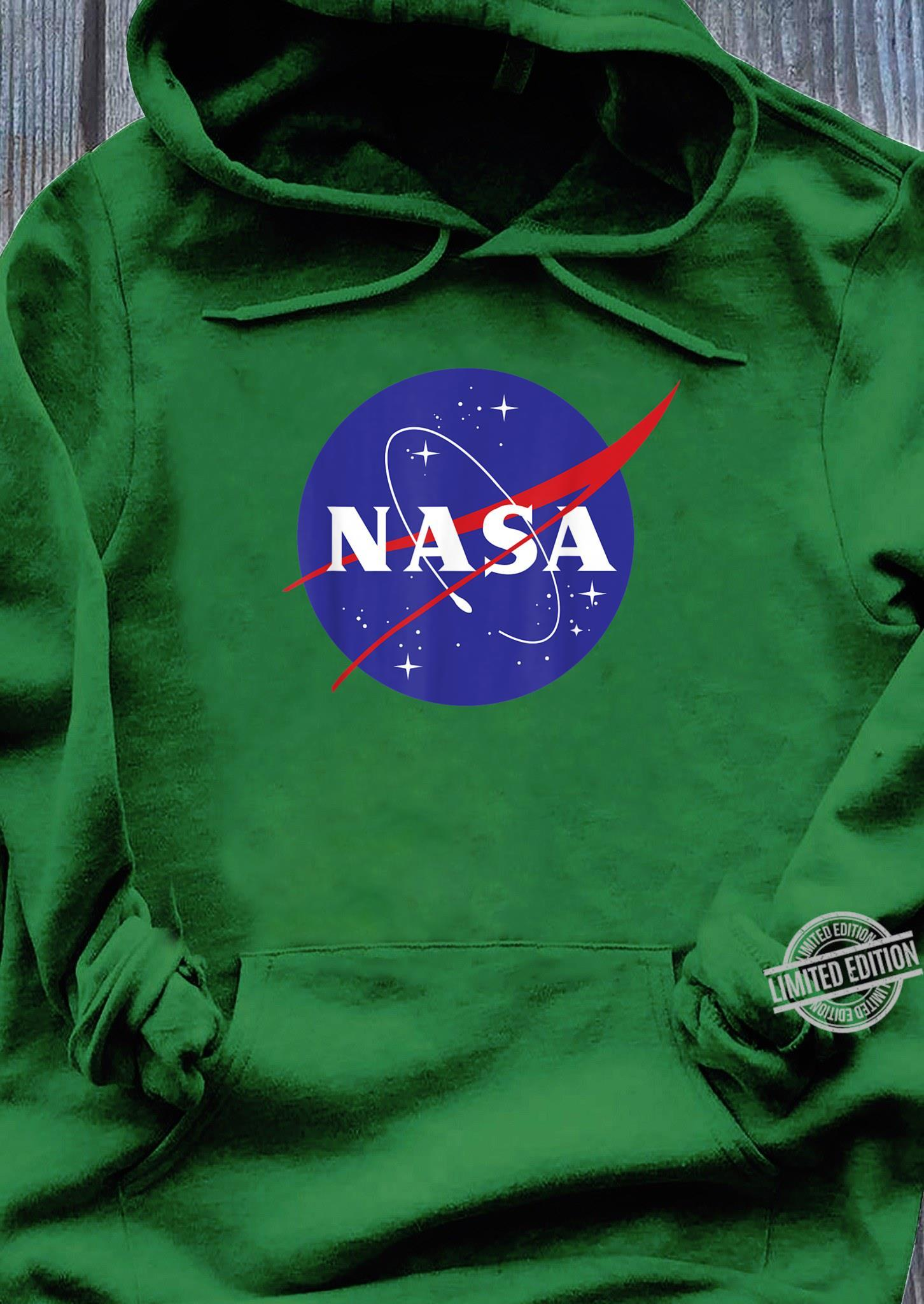 NASA Full Blue Logo C1 Shirt hoodie