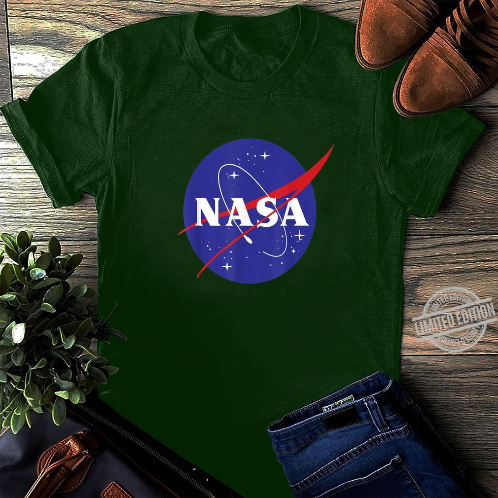 NASA Full Blue Logo C1 Shirt long sleeved