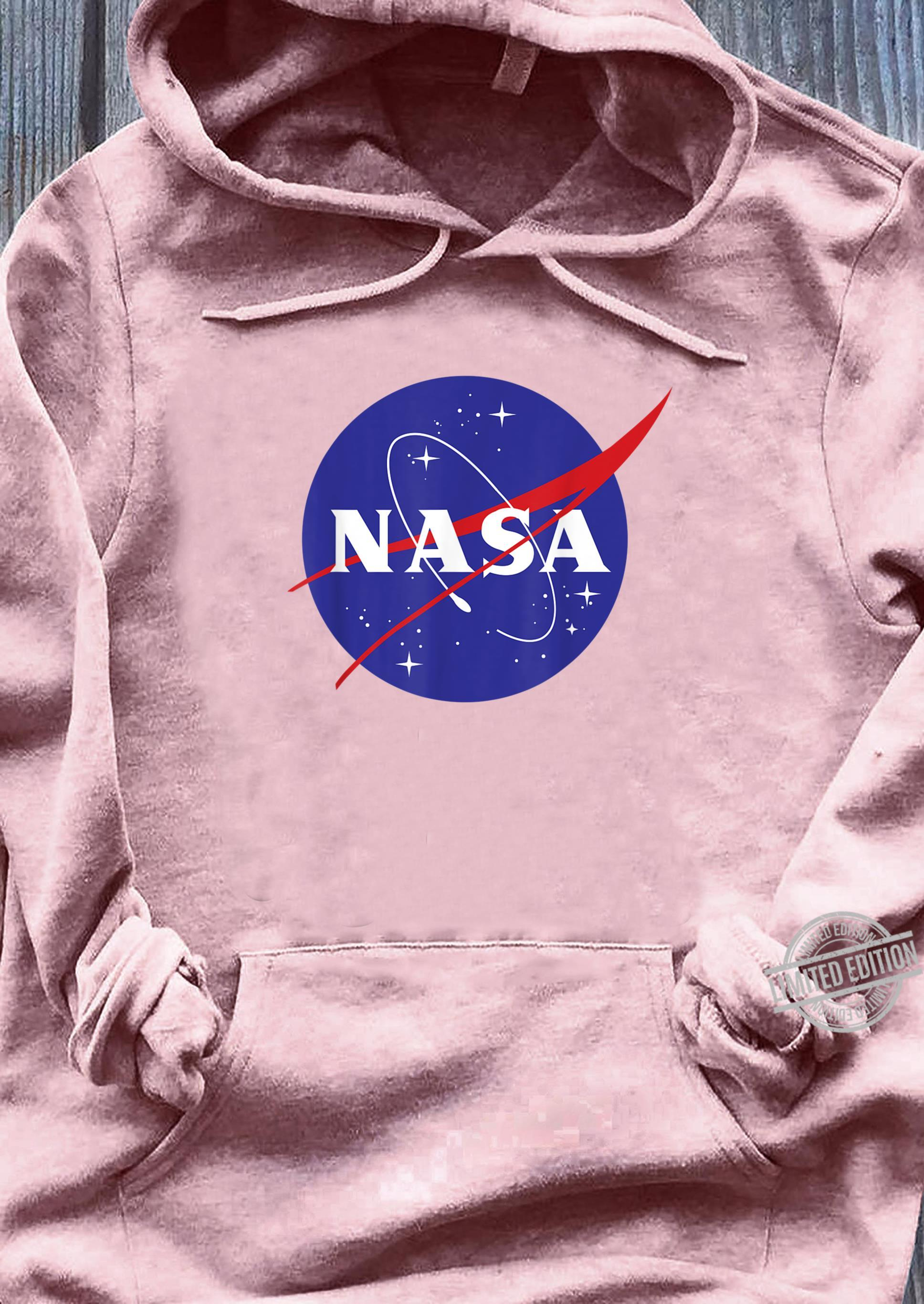 NASA Full Blue Logo C1 Shirt sweater