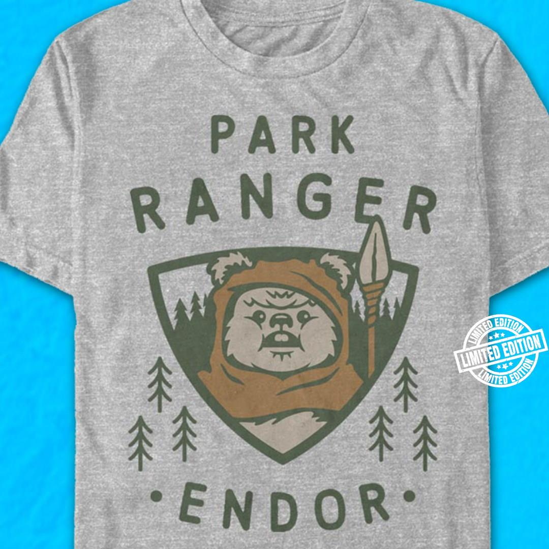 Park ranger endor shirt