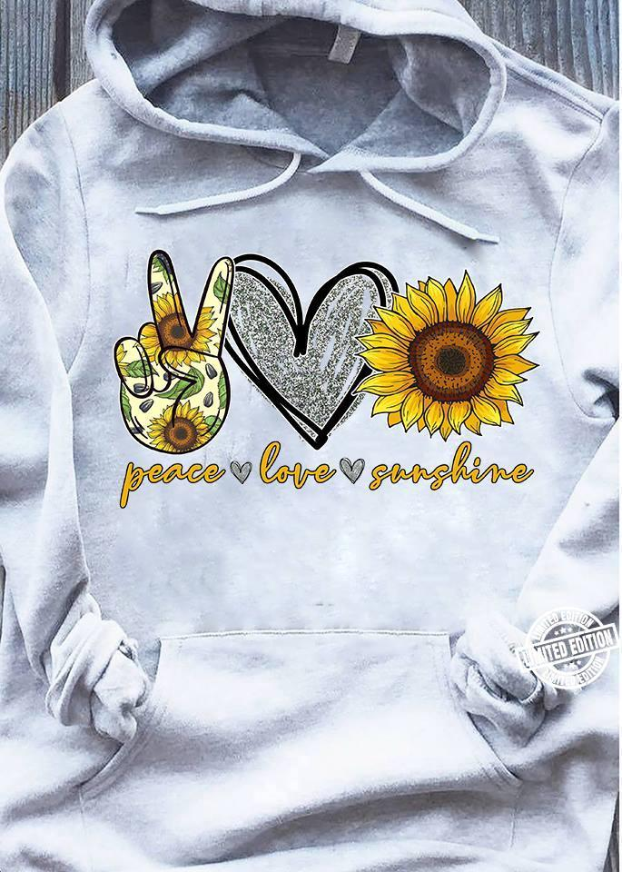 Peace love sunshine shirt
