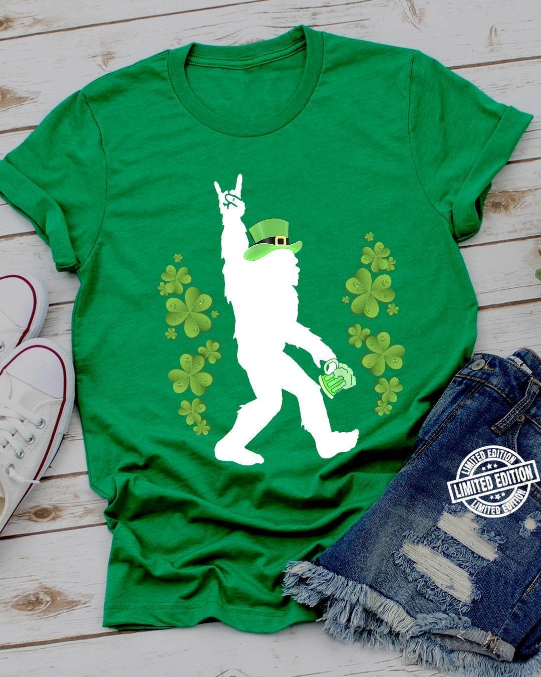 Pigfoot irish patrick's day shirt