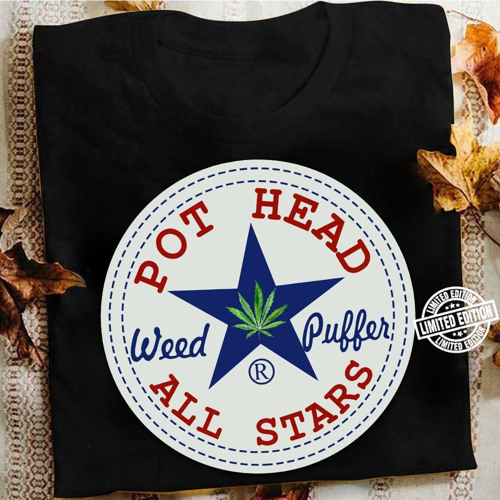 Pot head weed puffer all stars shirt