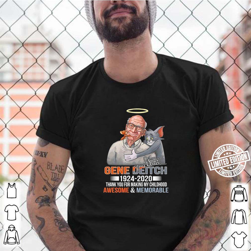 R.I.P Gene Deitch Father of Tom Jerry T-Shirt 1924-2020 Unisex T-Shirt