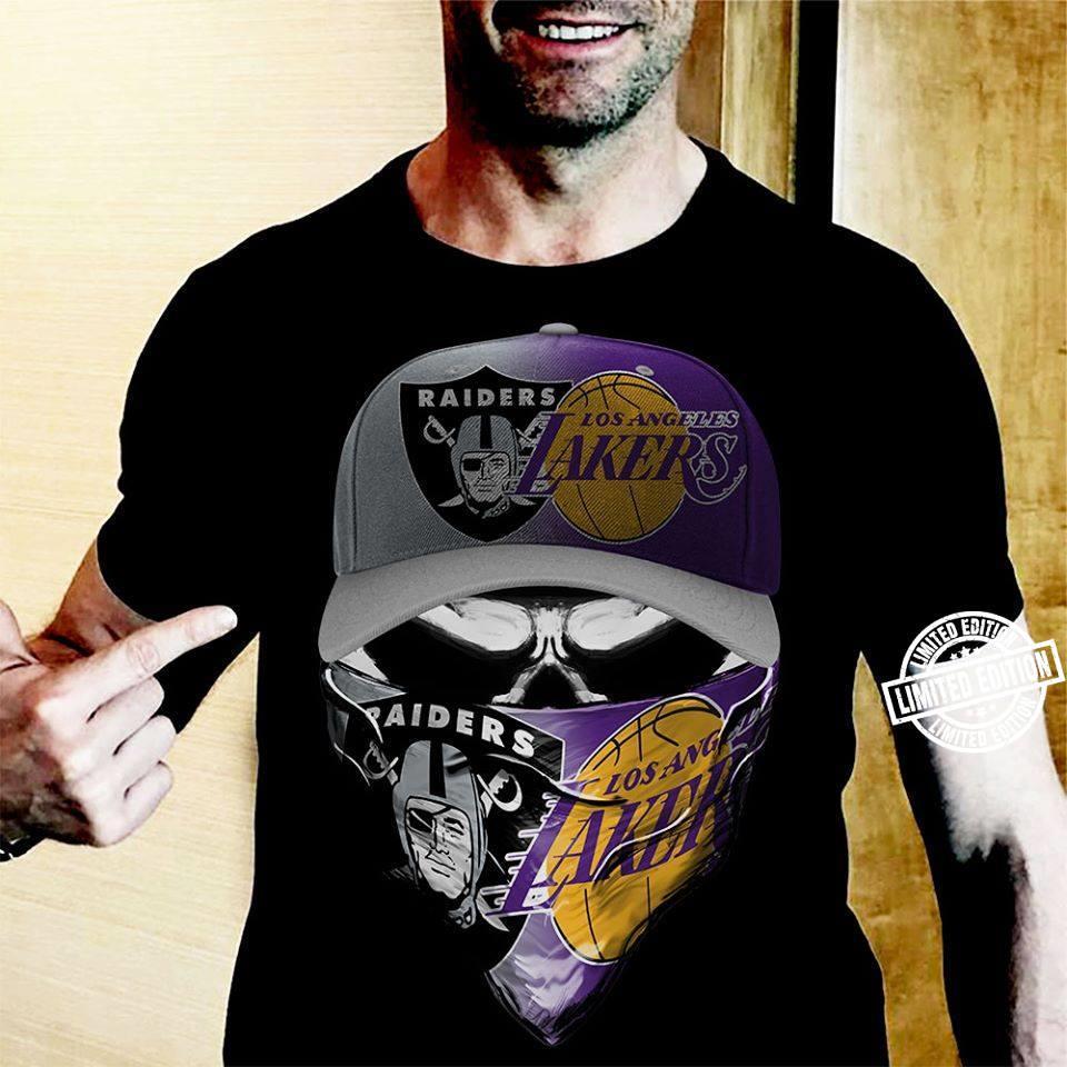 Raiders los angeles lakers shirt