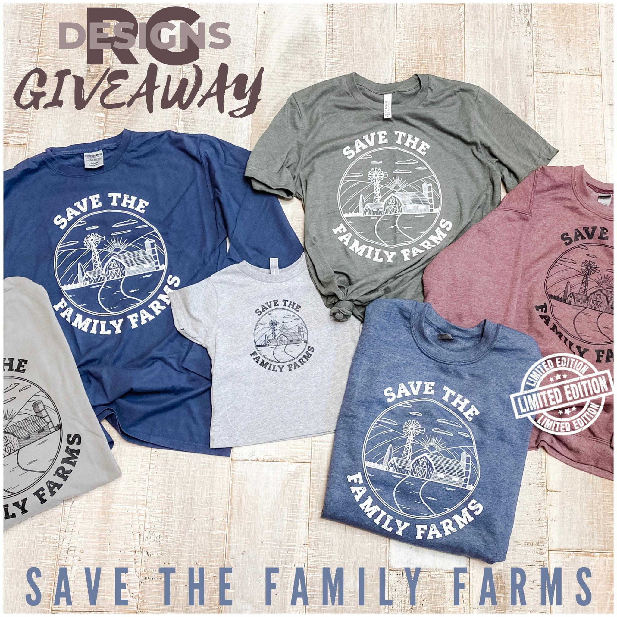 Save the family farms shirt