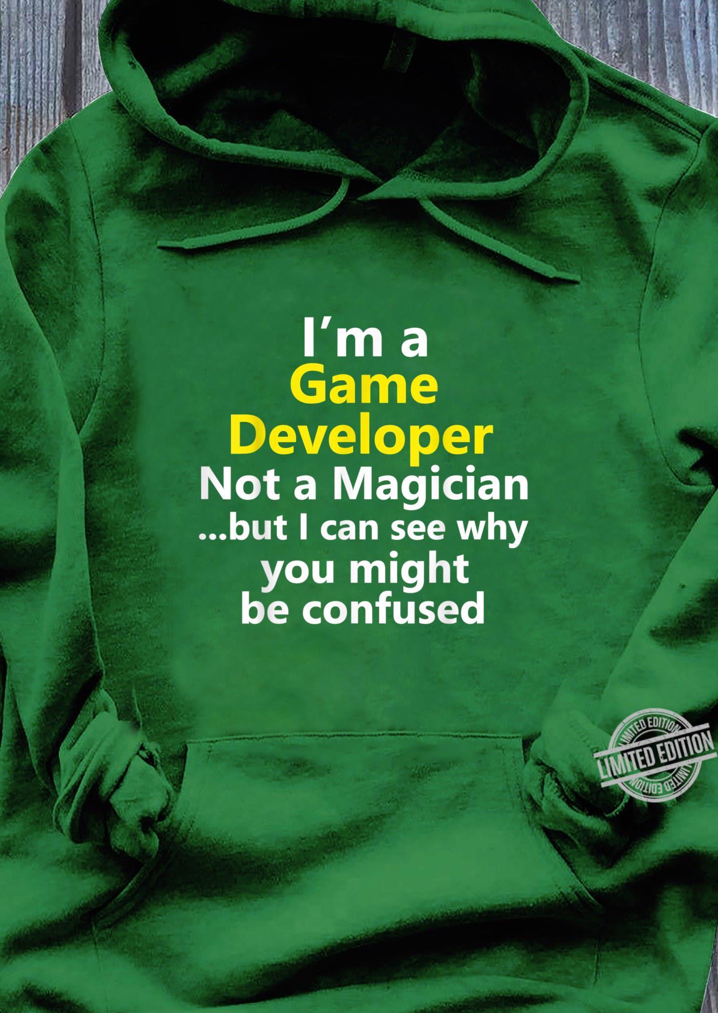 Spieleentwickler Mobile App Video Indie Designer Videogame Shirt hoodie