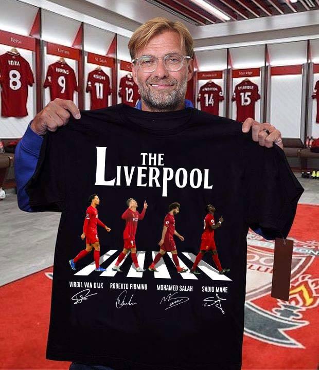 The liverpool signature shirt