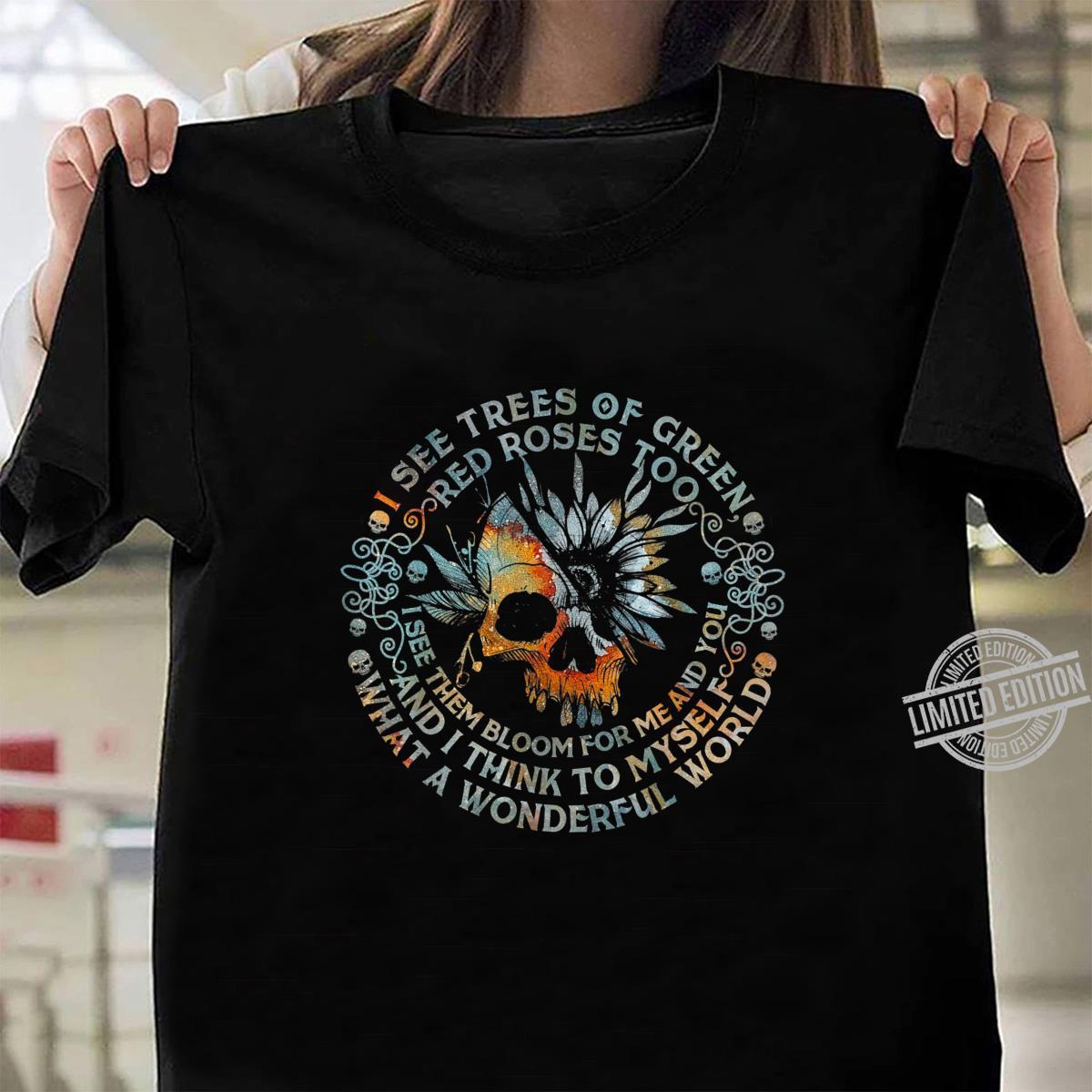 Und ich denke mir, was für eine wundervolle Welt Shirt ladies tee