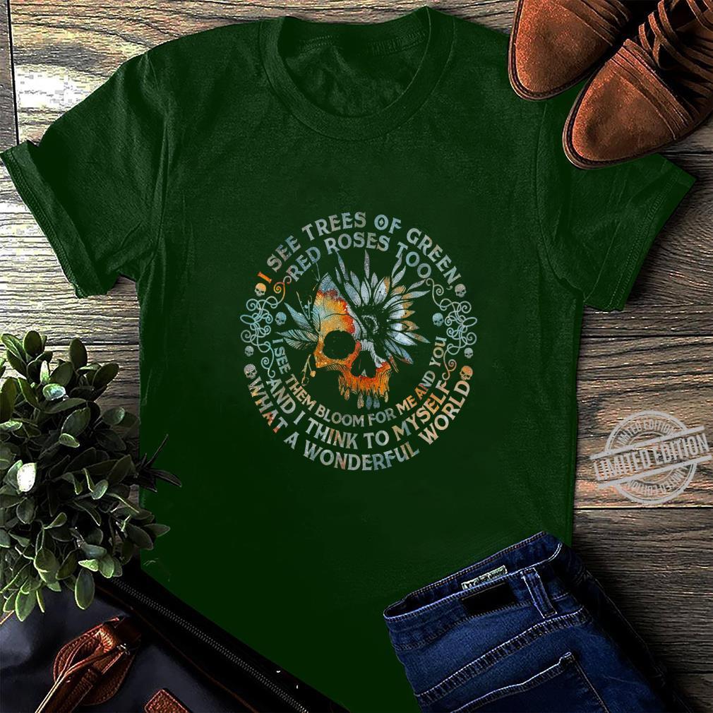 Und ich denke mir, was für eine wundervolle Welt Shirt long sleeved