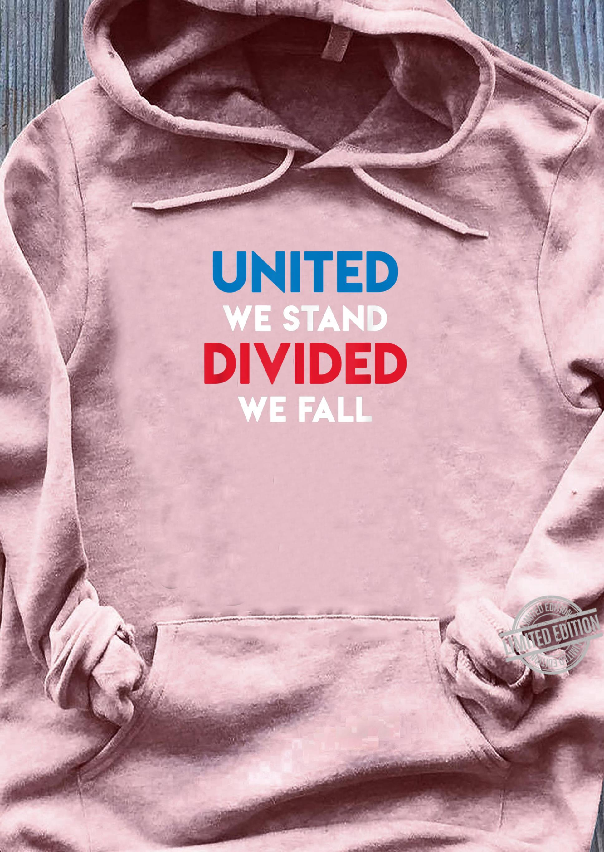United We Stand Divided We Fall Black Lives Matter, Police Shirt sweater